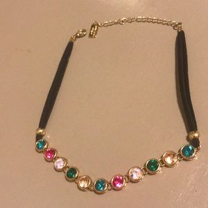 Jeweled choker